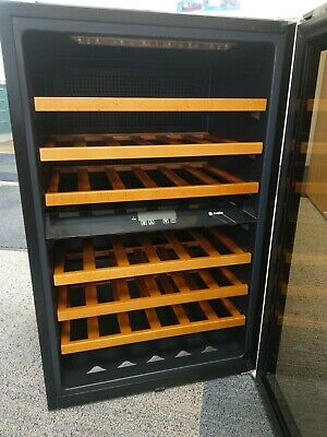 Caple WC6218 88cm Integrated In Column Dual Zone Wine Cooler USED dad xmas