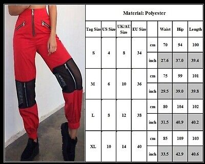 Women Ladies Camo Cargo Trousers Hip Hop Pants Military Army Combat Hiking Jeans