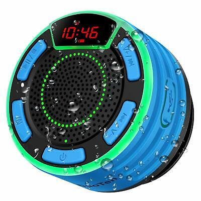 Loud Stereo Sound and Bass IPX7 Waterproof Wireless Portable Bluetooth Speaker