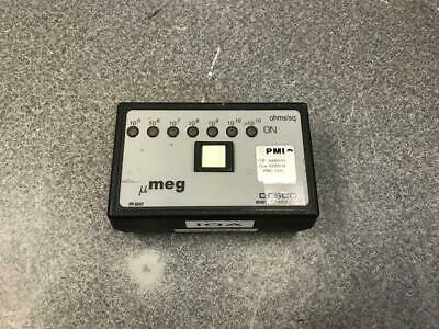 Desco umeg PP-9247 Pocket Megohmmeter ohms/sq