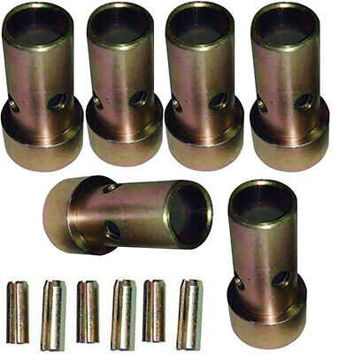 3 Category II Quick Hitch Bushings & Roll Pins Kits - Cat 2