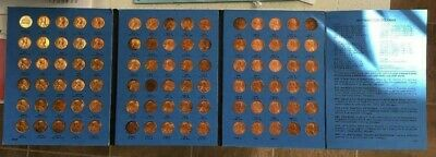 Vintage Lincoln Memorial Cents 1959 To 1977 Whitman Penny Collection