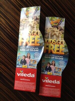2 x Chessington World Of Adventures Free Child Entry With Full Paying Adult