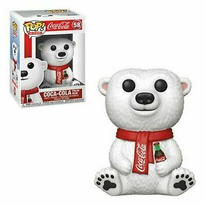 Coca-Cola Polar Bear Pop Ad Icons Vinyl Figure Funko New In Stock