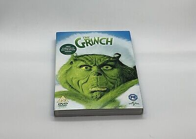 The Grinch (2004 Version With Jim Carrey) - Region 2 DVD And Sleeve