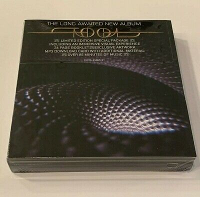 Tool Fear Inoculum CD Deluxe Edition Limited Tri Fold W/ HD Screen NEW In Hand