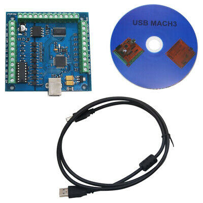 CNC MACH3 USB 4 Axis 100KHz USBCNC Smooth Stepper Motion Controller Card Bre 1S2