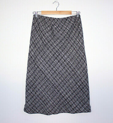 RIPE LIMITED Maternity Skirt Size L Black and White