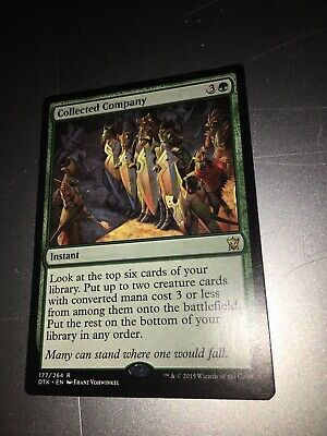 COLLECTED COMPANY Dragons Of Tarkir DTK Magic MTG MINT CARD