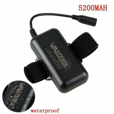 Rechargeable Powerful 8.4V 10400//5200MAH Battery Pack For X3 X2 T6 Bicycle Light