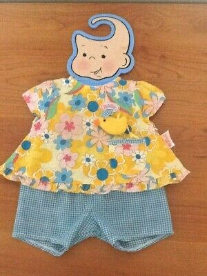 """Zapf Creation Baby Born Doll (Or Similar 17"""") Outfit"""