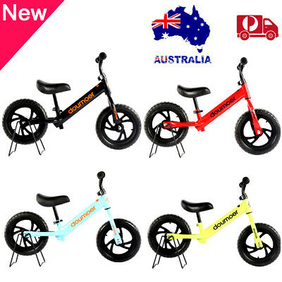 """12"""" Kids Baby Balance Bike Ride Toy Training Push Bicycle Scooter 2-6y Toddlers"""