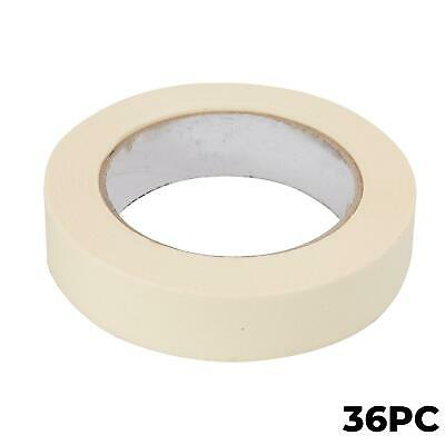 36x Masking Tape Paint Decorate Craft Low Tack Multi-purpose DIY 25mm x 50m Roll