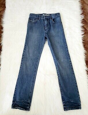 Gap Kids 1969 Boys Denim Jeans Skinny Size 14 Reg Adj Waist Blue.