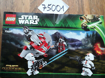 LEGO Star Wars 75001 - Republic Troopers vs. Sith Troopers