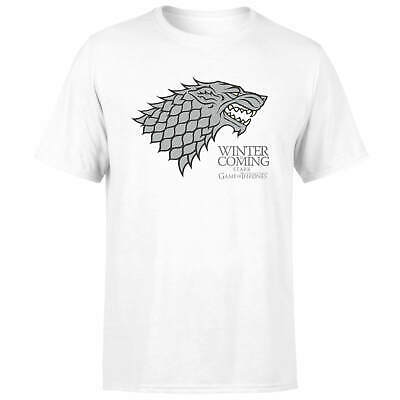 Game Of Thrones Stark Winter Is Coming T-Shirt, Officially Licensed, Unisex