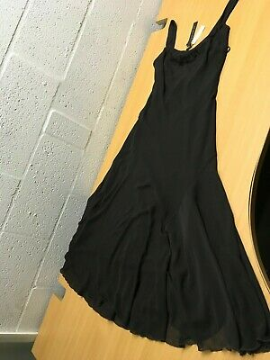 M&S Marks And Spencer Per Una Dress Chocolate 10 New Rrp £69.50 Gorgeous Summer