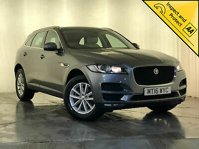 2016 Jaguar F-Pace Prestige Awd Cream Heated Leather Seats 1 Owner Svc History