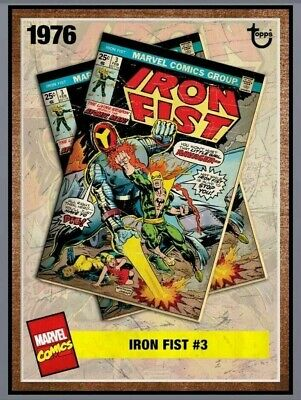 TOPPS ARCHIVES IRON FIST #3 Topps Marvel Collect Digital Card
