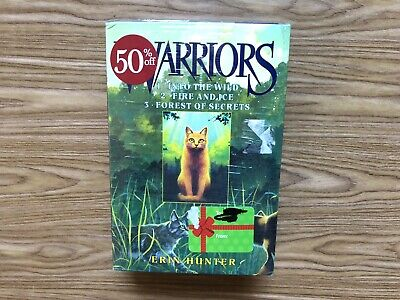 Warriors The Prophecies Begin books 1-3 Set Series Lot by Erin Hunter Brand New