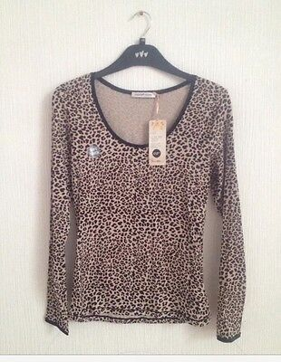BNWT Marks&Spencer 2 Pack Ladies Soft Cotton Long Sleeves Vest Top  Size 10