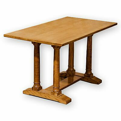 Arts & Crafts Cotswold School English Oak Dining Table