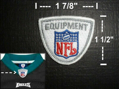 Authentic NFL Equipment Logo Jersey Shield Patch  - SEW On Patches - Brand NEW