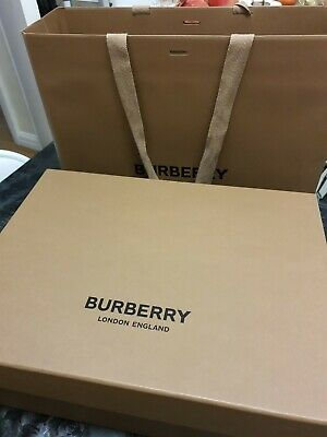 Burberry empty box and paper bag setBox size37.26.5x13cm