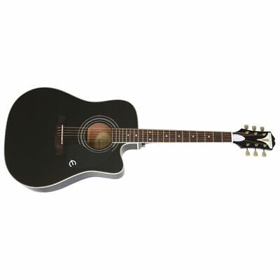 Epiphone PRO-1 Ultra Black - Western Guitar with Pickup