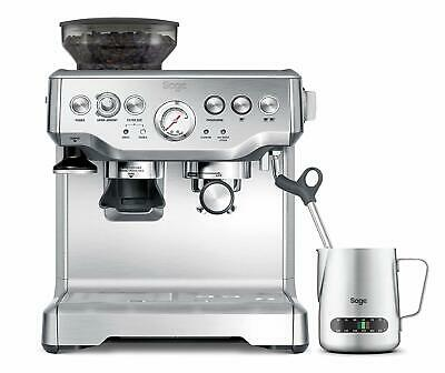 Sage Espresso-Maschine The Barista Express Silber SES875 15 Bar Manometer