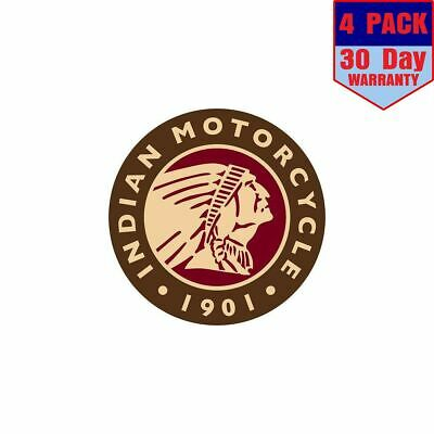 #G2228 Indian Motorcycle Springfield MA 1901 Decal Sticker Fully Laminated Vinyl
