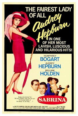 ART PRINT POSTER PHOTO PORTRAIT ACTORS HUMPHREY BOGART AUDREY HEPBURN NOFL0391