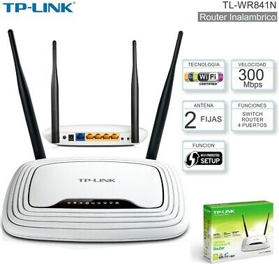 TP-Link TL-WR841N 300Mbps Wireless N Cable Router