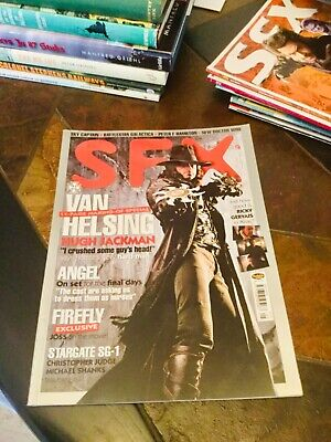 SFX Magazine #117. May 2004. Hugh Jackman/Van Helsing Cover.