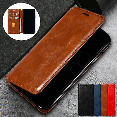 For iPhone 11 Pro Max XS XR 8 Plus 7 6 Case Luxury Magnetic Leather Wallet Cover