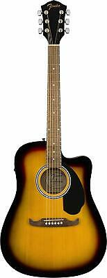 Fender FA-125CE Dreadnought Cutaway Acoustic-Electric Guitar - Sunburst