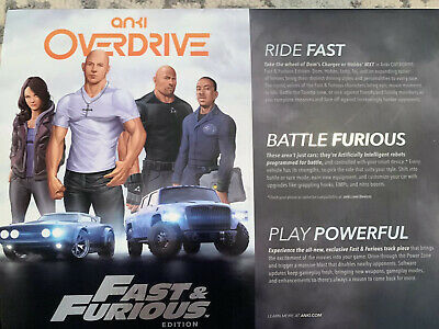 Anki OVERDRIVE Fast & Furious Edition Perfect Condition. Original Box & Packge