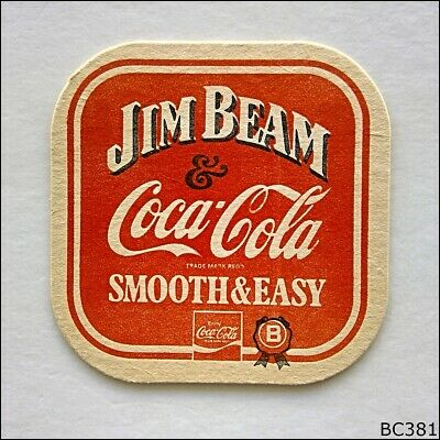 Jim Beam & Coca-Cola Smooth & Easy Coaster (B381)