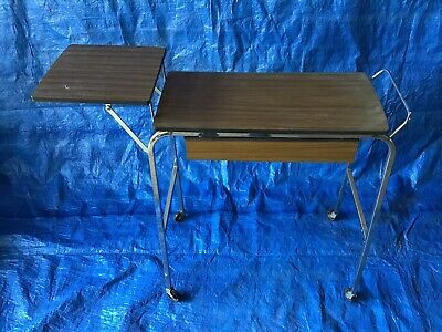 Retro Sewing Machine Table and Contents