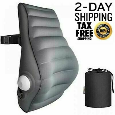 Lumbar Pillows Pillow Back Cushion Inflatable Support For Office Chair Car Seat