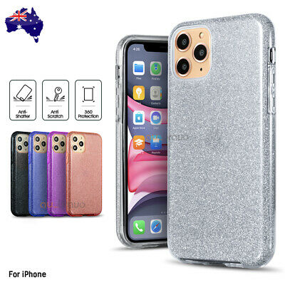 Shockproof Bling Glitter Case Slim Cover For iPhone 11 Pro XS Max XR 7 8 Plus