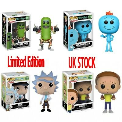 New Limited Editio Funko Pop Rick And Morty Vinyl Action Figure Toy Kids Gift UK