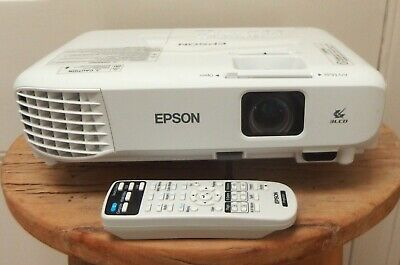 Corporate Portable Multimedia Projector EPSON LCD Projector EB-X140 Model: H839B
