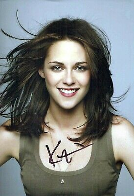 Kristen STEWART SIGNED Autograph SEXY Photo AFTAL COA Charlies Angels Actress
