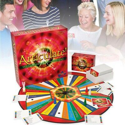 Articulate Fast Talking Description Board Game Describe Word Family Play Set UK