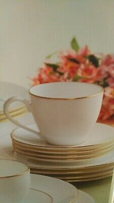 Lenox Continental Gold China Micro Safe choice dinner soup salad t-cup (N256)s4d