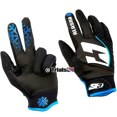 S3 Alaska Windproof Cold Weather Gloves -Trials-Enduro-Trail-Offroad
