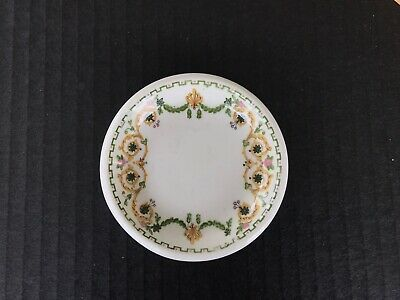 Butter Pat Chip Vitrified China Hotel Ware Restaurant Maddock England