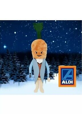 Official Aldi Kevin the Carrot 2019 Christmas Kevin Plush Soft Toy**Brand New**