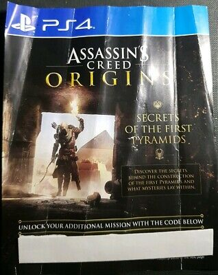 Assassin's Creed Origins-PS4 DLC - Secrets of the First Pyramids NOT FULL GAME